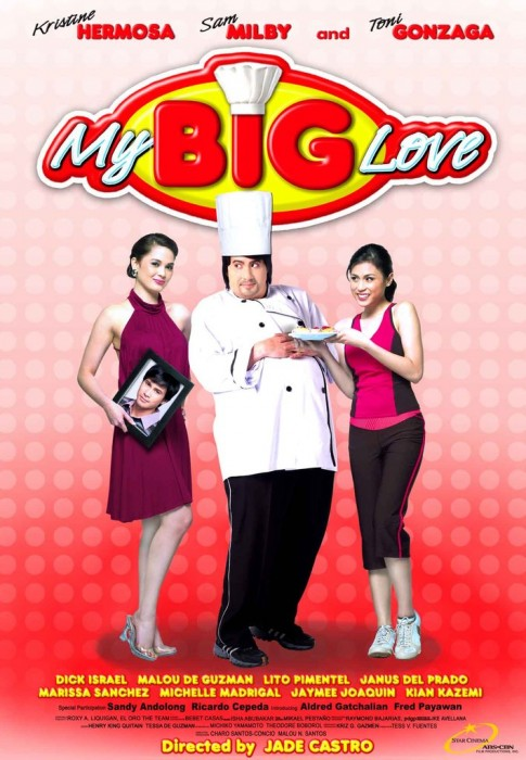 Sam as fat guy Macky Angeles in My Big Love by Jade Castro