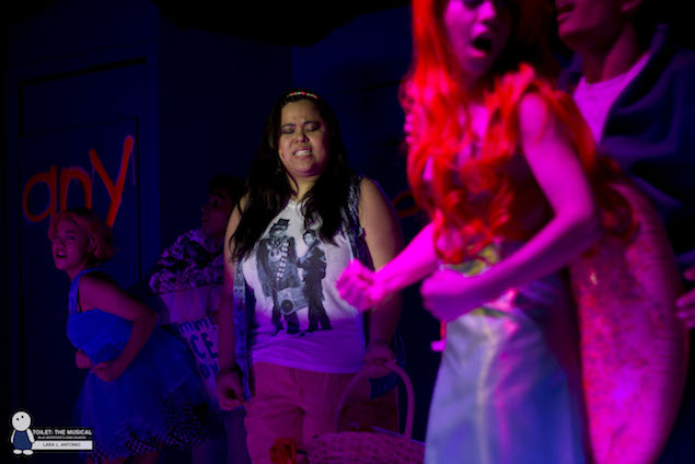 Cassie Manalastas as Tiffany. photo via Blue Repertory.