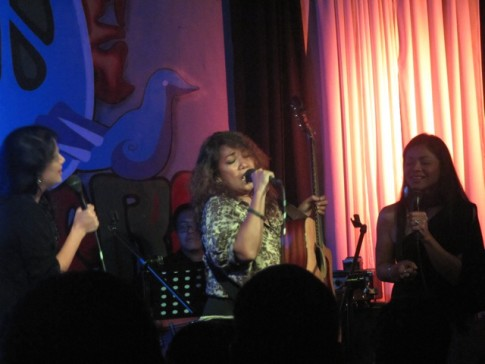 Tres Marias at 70's Bistro, 2012.